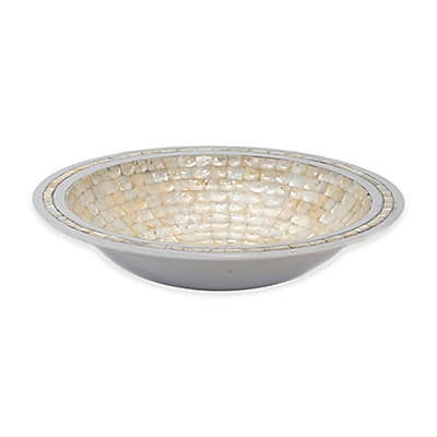 Julia Knight® Classic 15-Inch Round Bowl in Mother of Pearl