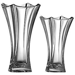 Galway Crystal Dune Waisted Vase