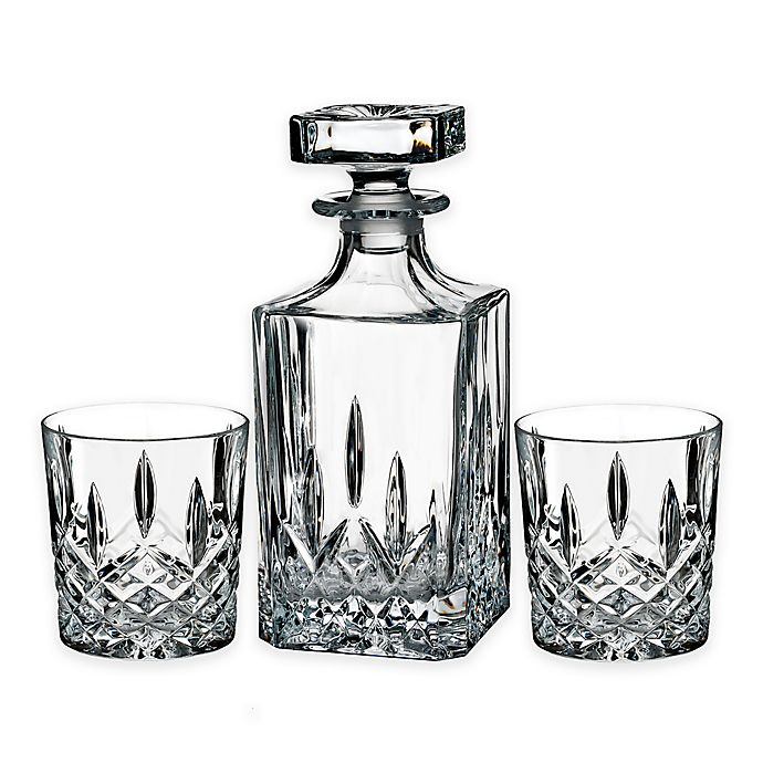 e8dc481f7447 Marquis® by Waterford Markham 3-Piece Decanter Set