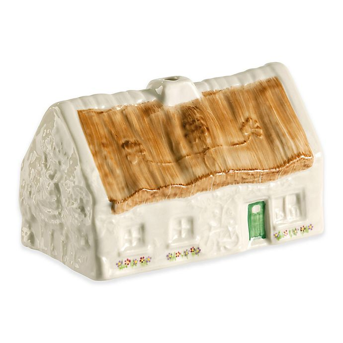 Alternate image 1 for Belleek Traditional Quiet Man Cottage Ornament