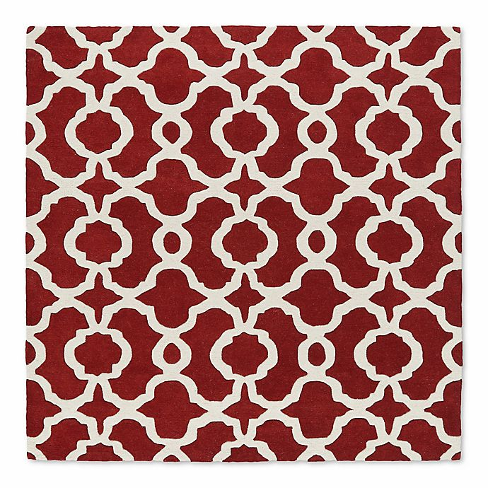 Alternate image 1 for Kaleen Tara Malta 11-Foot 9-Inch Square Area Rug in Red