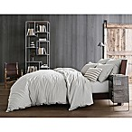 Kenneth Cole Reaction Home Mineral King Duvet Cover in Cement