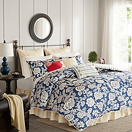 Madison Park Lucy Duvet Cover Set in Navy