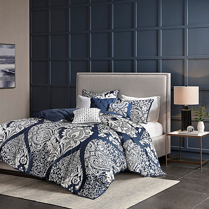Madison Park 6 Piece Vienna Duvet Cover Set Bed Bath