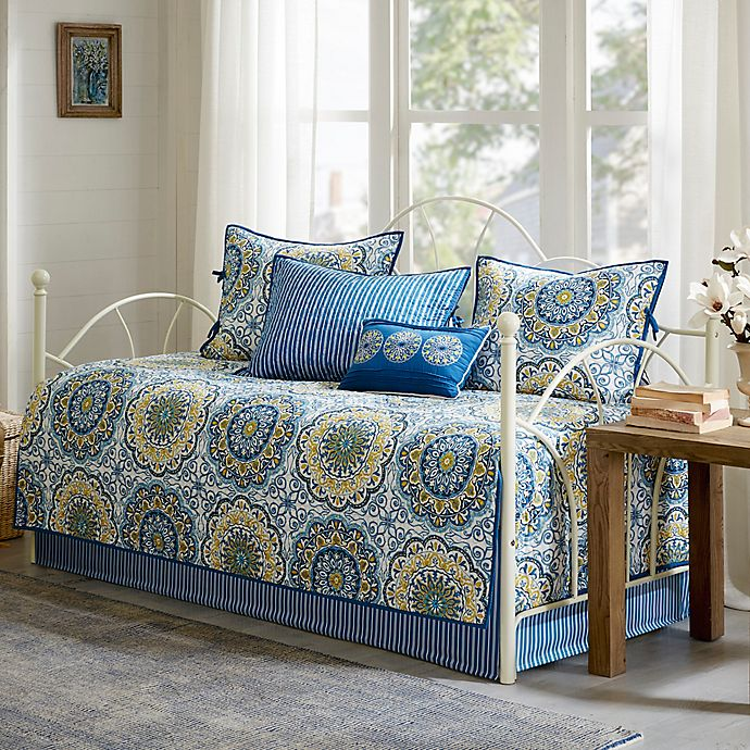 Alternate image 1 for Madison Park Tangiers Daybed Set in Blue