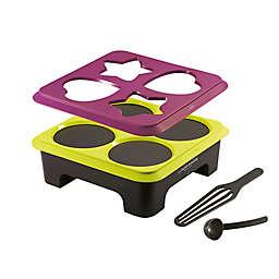 Lagrange® Crêpes Creativ'™ 3-in-1 Electric Crepe Maker in Black/Purple
