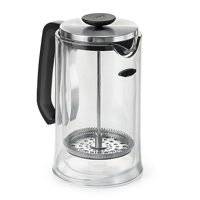 Alternate image 1 for OXO Good Grips® 8-Cup French Press Coffee Maker in Clear