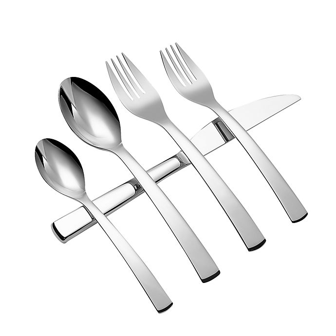 Alternate image 1 for Gourmet Settings Symphony 20-Piece Flatware Set