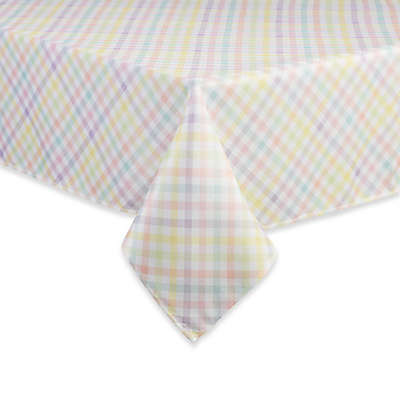 Spring Splendor Gingham Tablecloth in Multi