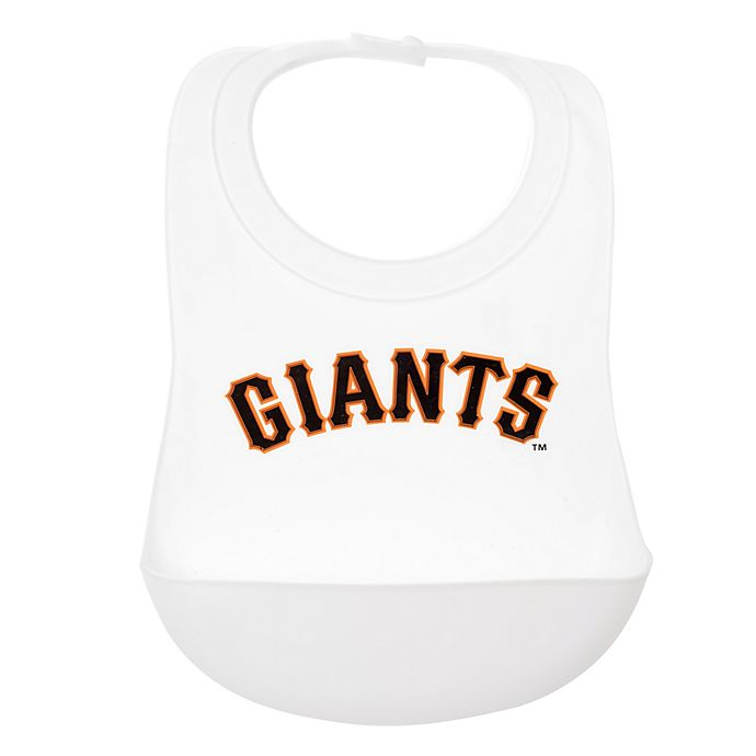 Alternate image 1 for chewbeads® MLB San Francisco Giants Silicone Bib