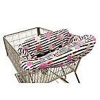 Itzy Ritzy® Ritzy Sitzy™ Shopping Cart and High Chair Cover in Floral Stripe