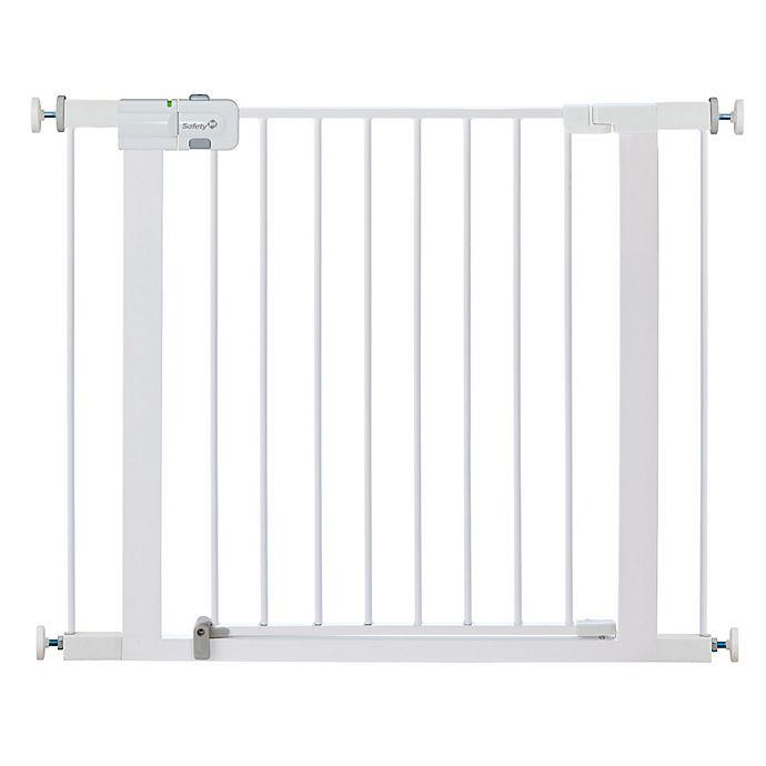 Safety 1st Easy Install Walk Thru Gate In White Buybuy Baby