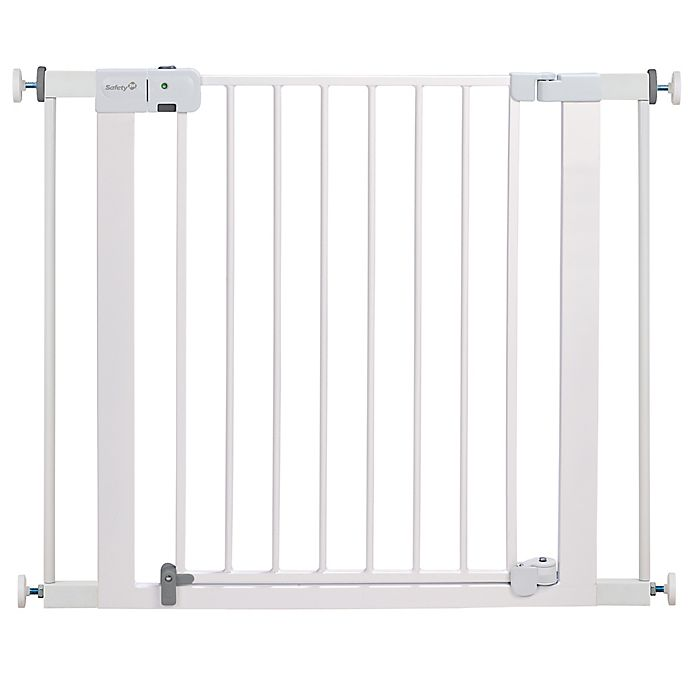 Alternate image 1 for Safety 1st® Easy Install Auto-Close Walk-Thru Gate in White