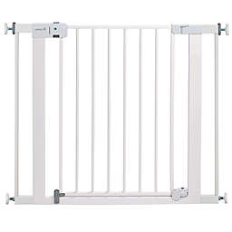 Safety 1st® Easy Install Auto-Close Walk-Thru Gate in White