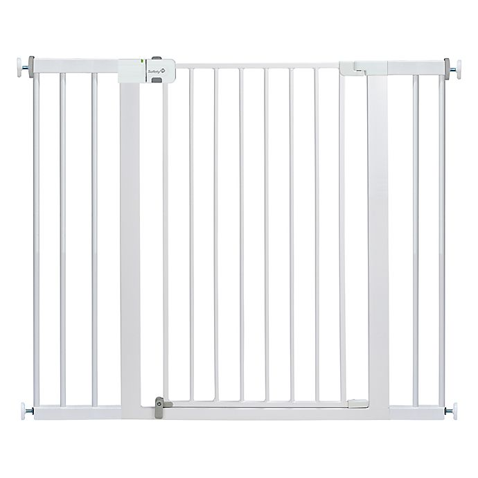 Alternate image 1 for Safety 1st® Easy Install Extra Tall and Wide Gate in White