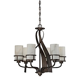 Quoizel Kyle Chandelier in Iron