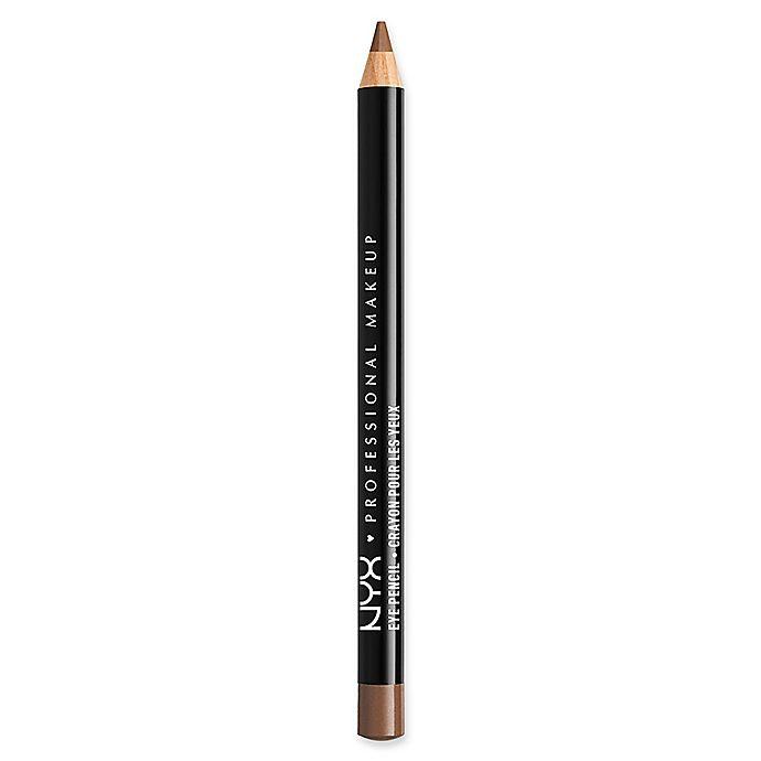 Alternate image 1 for NYX Professional Makeup Slim Eye Pencil in Light Brown