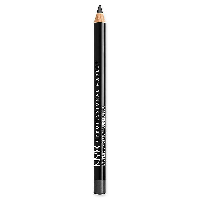 Alternate image 1 for NYX Professional Makeup Slim Eye Pencil in Charcoal