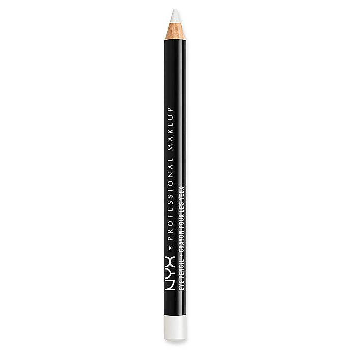 Alternate image 1 for NYX Professional Makeup Slim Eye Pencil in White Pearl