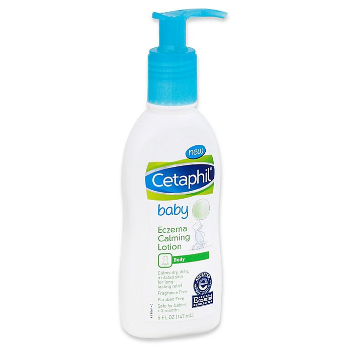 Alternate image 1 for Cetaphil® Baby 5 oz. Eczema Calming Lotion