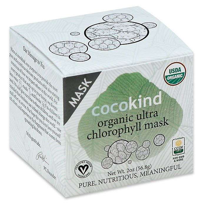 Alternate image 1 for CocoKind 2 oz. Organic Sea Ultra Chlorophyll Mask