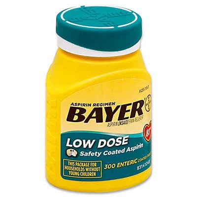 Aspirin Regimen Bayer® 300-Count Low Dose 81mg