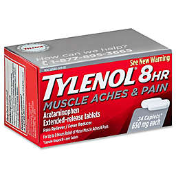 Tylenol® 8HR 24-Count Muscle Aches & Pain Extended-Release Tablets