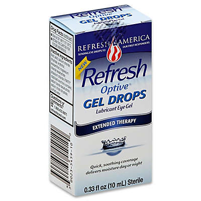 Refresh Optive® .33 fl. oz. Gel Drops Extended Therapy Lubricant Eye Gel