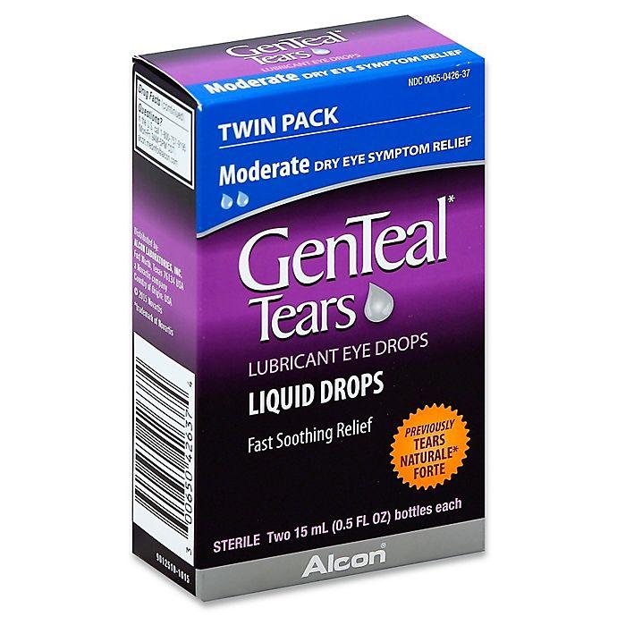 Alternate image 1 for Alcon® 2-Pack .5 fl. oz. GenTeal Tears Liquid Eye Drops