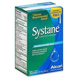 Alcon® Systane® 30-Count Lubricant Eye Drops .7mL Vials