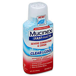 Mucinex® Fast-Max® 6 oz. Clear & Cool™ Severe Congestion & Cough