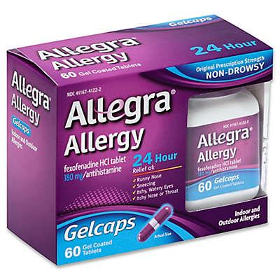 Allegra® Allergy 60-Count 24 Hour Relief Gelcaps