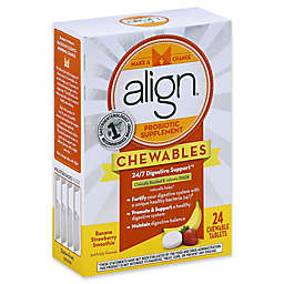 Align® Jr. 24-Count Probiotic Supplement Chewables for Kids in Banana Strawberry