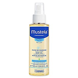 Mustela® 3.38 oz. Baby Oil for Normal Skin