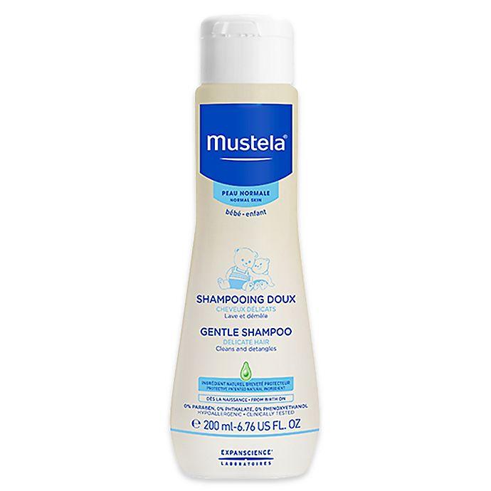 Alternate image 1 for Mustela® 6.76 fl. oz. Gentle Shampoo for Normal Skin