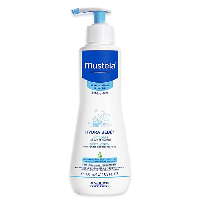 Alternate image 1 for Mustela® Hydra Bébé® 10.14 oz. Body Lotion for Normal Skin
