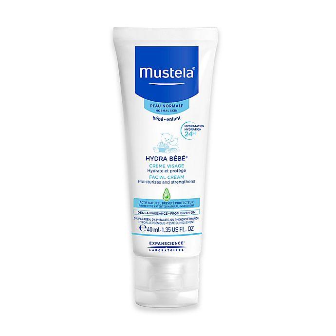 Alternate image 1 for Mustela® Hydra Bébé® 1.35 oz. Facial Cream for Normal Skin