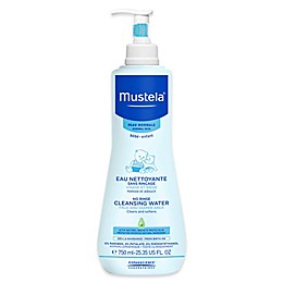 Mustela® 25.35 oz. No-Rinse Cleansing Water for Face and Diaper Area