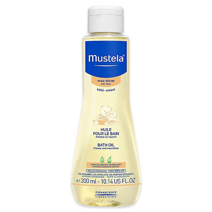 Alternate image 1 for Mustela® 10.14 oz. Bath Oil for Dry Skin