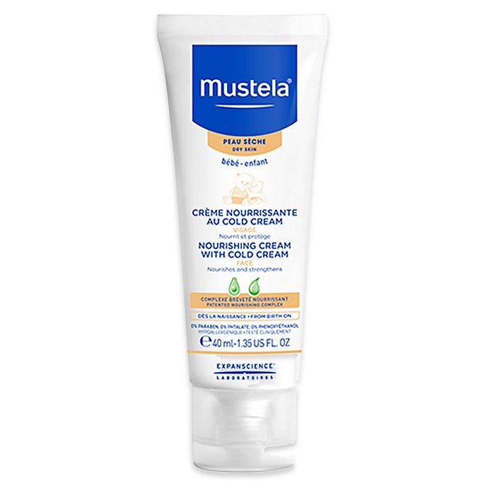 Alternate image 1 for Mustela® 1.35 oz. Nourishing Face Cream with Cold Cream for Dry Skin