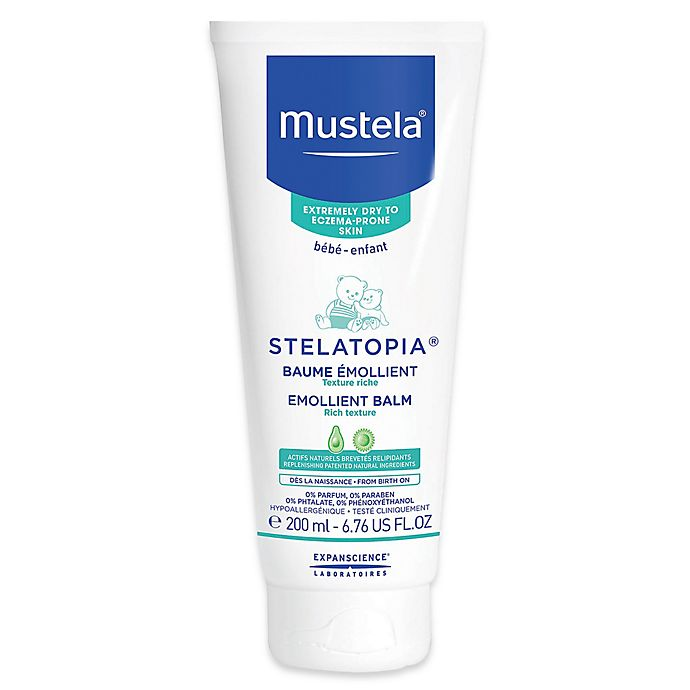 Alternate image 1 for Mustela® Stelatopia® 6.76 oz. Emollient Balm for Extremely Dry to Eczema-Prone Skin