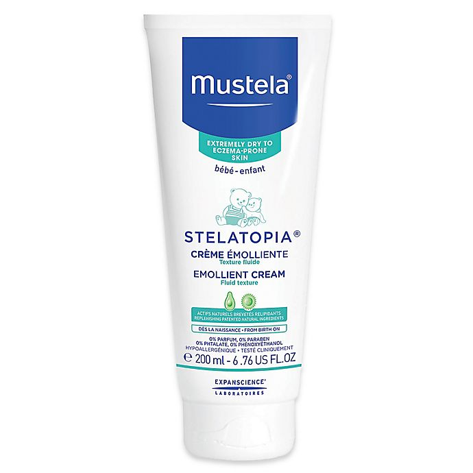 Alternate image 1 for Mustela® Stelatopia® 6.76 oz. Emollient Cream for Extremely Dry to Eczema-Prone Skin