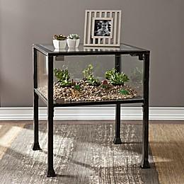 Southern Enterprises Terrarium Display End Table
