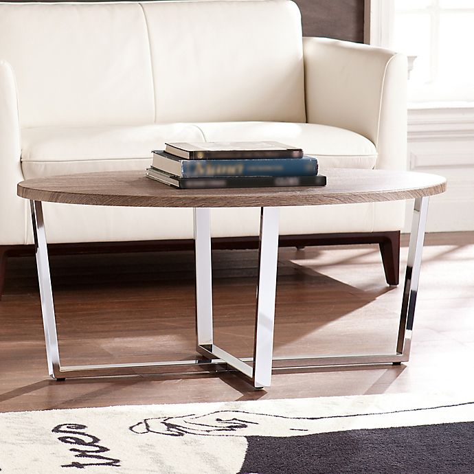 Alternate image 1 for Southern Enterprises Elements Cocktail Table in Grey