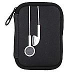 MYTAGALONGS® Neoprene Earbud Case in Black