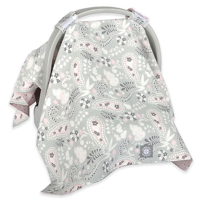 Balboa Baby Car Seat Canopy In Grey Paisley Buybuy Baby