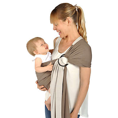 Balboa Baby® Dr. Sears Reversible Jersey Sling in Mocha/Tan