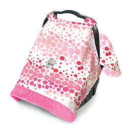 Itzy Ritzy® Cozy Happens™ Infant Car Seat Canopy and Tummy Time Mat in Pink Ombré Dot