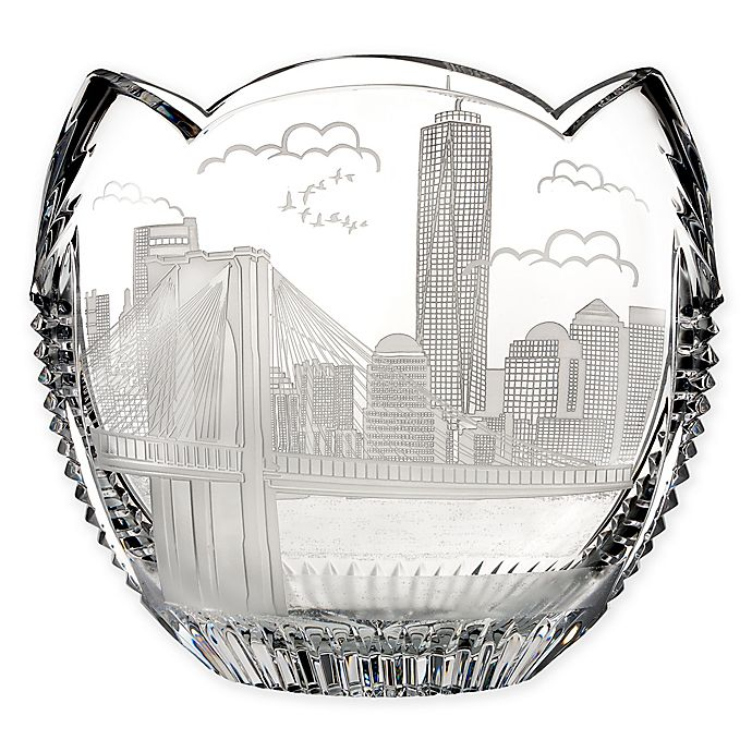 Alternate image 1 for House of Waterford® America the Beautiful New York Oval Bowl