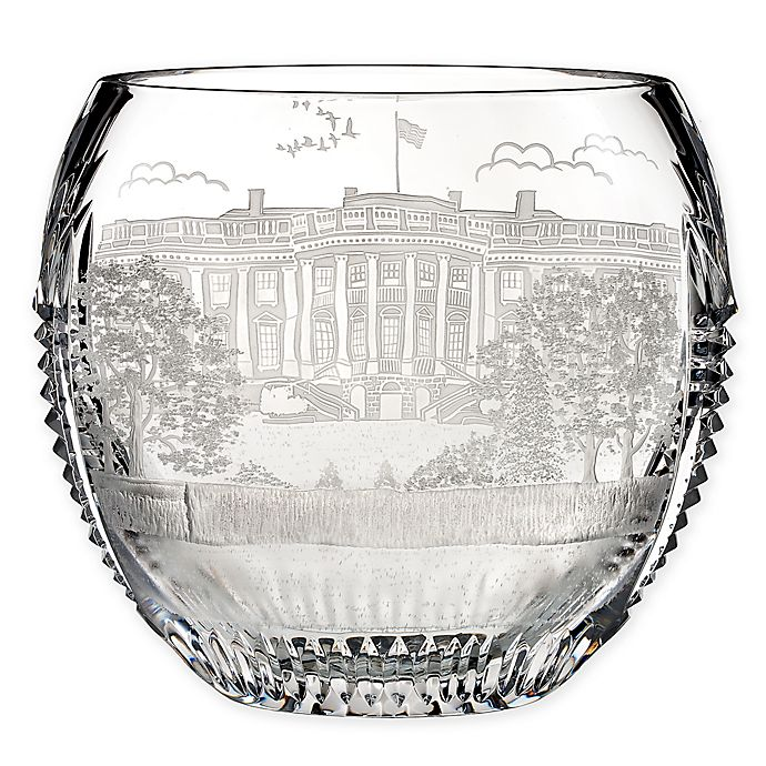 Alternate image 1 for House of Waterford® America the Beautiful Washington D.C. Oval Bowl